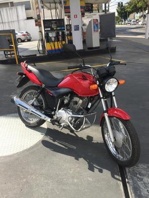 Honda Cg 125 Fan Ks Apenas 1039km ! Moto Zero