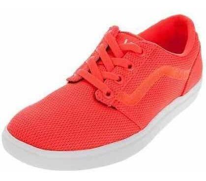 Zapatillas Vans Champman Lite Neon Coral Mujer Talle 8.5us