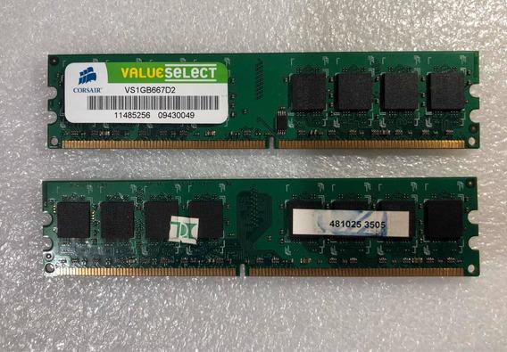 Memoria Ram Corsair Value Ddr2 1 Gb Vs1gb667d2