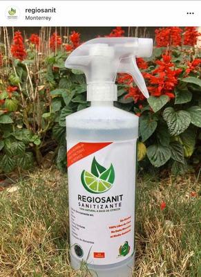 Sanitizante Regiosanit Elimina El 99.999% De Bacterias!!!