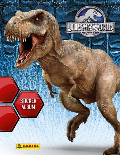 Panini Iron Jurassic World Colección Completa