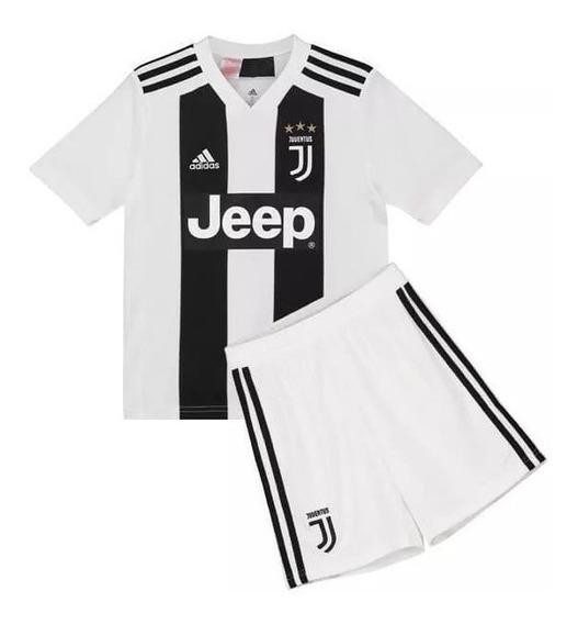 Kit Infantil Juventus Cr7 - Envio Imediato