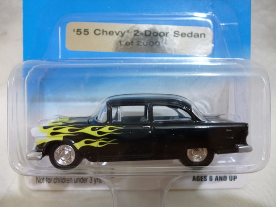 Johnny Lightning 55 Chevy 2 Door Sedan - J P Cars