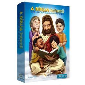 Bíblia Infantil Uma História Para Cada Dia Do Ano + Cd 27