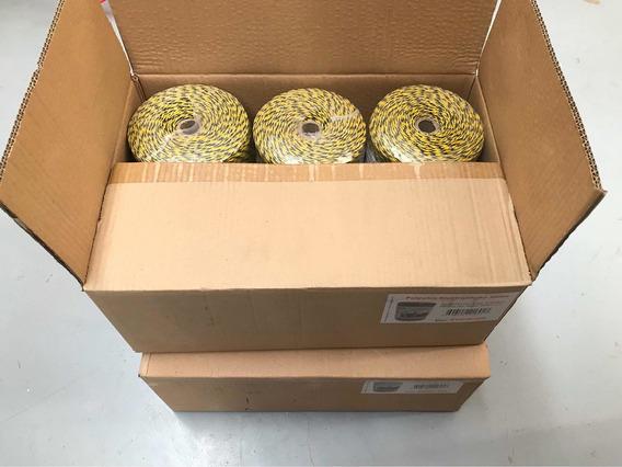 12 Rollos Polywire De 500m C/u. Cordón Para Cerca Elect.
