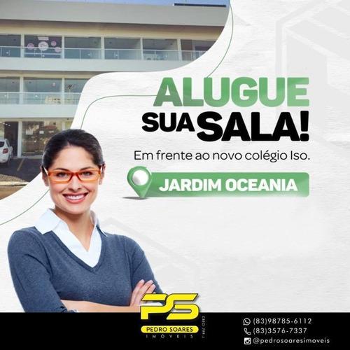 Imagem 1 de 5 de Sala Para Alugar, 30 M² Por R$ 1.200/mês - Jardim Oceania - João Pessoa/pb - Sa0238