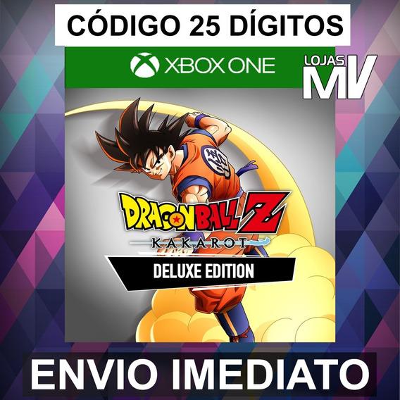 Dragon Ball Z Kakarot Deluxe - Xbox One Codigo 25 Digitos