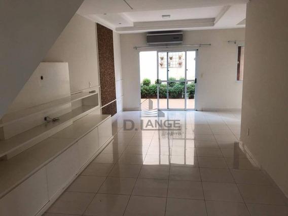 Casa Com 3 Dormitórios À Venda, 200 M² Por R$ 720.000,00 - Mansões Santo Antônio - Campinas/sp - Ca13961