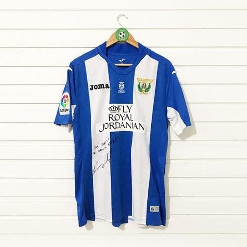 Camisa Leganés (2016) #8 Gabriel Autograf. - @timesdomundofc