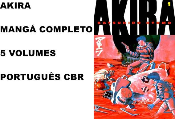 Mangá Akira Completo 5 Volumes Digital