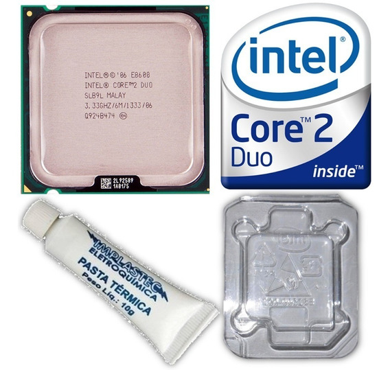 Processador Core 2 Duo E8600 Intel 775 3.33ghz 1333mhz 6mb