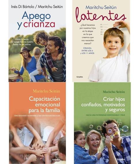 Pack Maritchu Seitun - Apego Y Crianza + Latentes +2 4libros