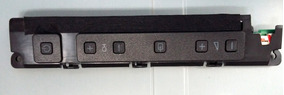 Teclado De Funções Para Tv Led Philips 32pfl3018d/78.