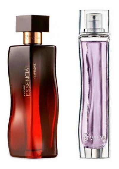 Combo Perfumes Femininos Natura Essencial Supreme + Revelar