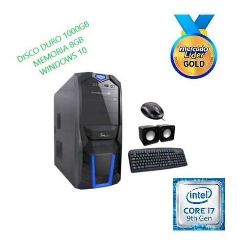 Cpu Computador Intel Core I7 9na Gen 1tb 8gb  Inc Iva