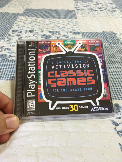 Activision Classic Games Atari Playstation 1 Original