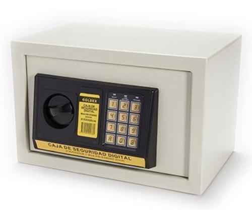 Imagen 1 de 3 de Caja Fuerte Electrónica Digital Llaves Cofre Seguridad