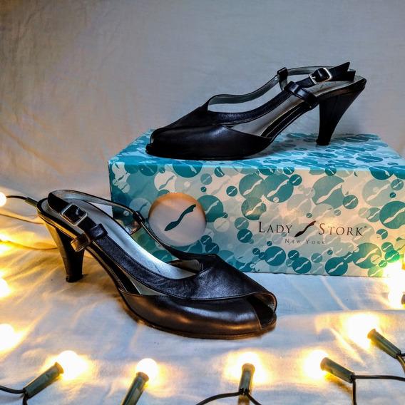 Zapatos Lady Stork Usadas En Excelente Estado Y En Cajas.