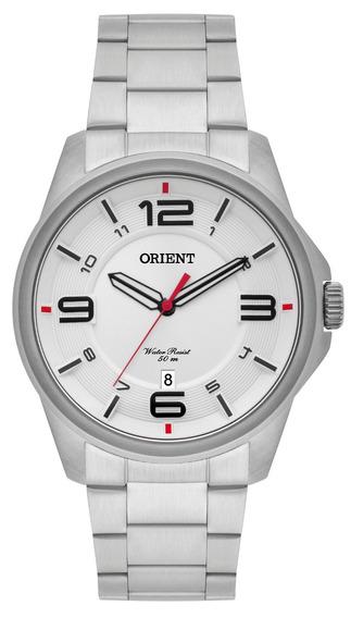 Relógio Orient Prateado Masculino Mbss1288s2sx