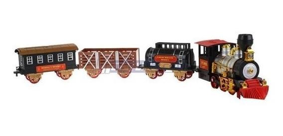 Ferrorama Classic Train Completo Com Trilhos Trem Eletrico