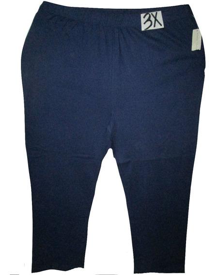 Pantalon Azul Casual Talla 3x (42/44w) Bobby Brooks