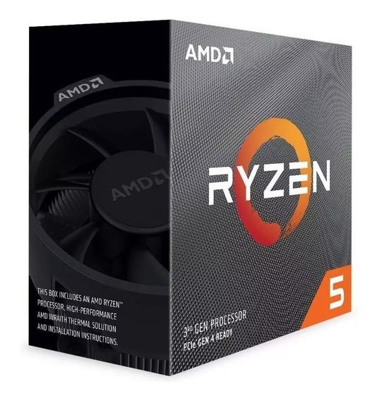 Proc Amd Ryzen 5 3600 3.6ghz 36mb Am4 Wraith Stealth Coole