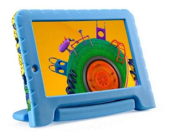 Tablet Infantil Multilaser Discovery Kids 16gb Azul Nb290