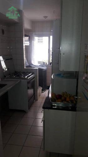 Apartamento Com 2 Dormitórios À Venda Por R$ 220.000 - Jardim Ipanema (zona Oeste) - São Paulo/sp - Ap1182