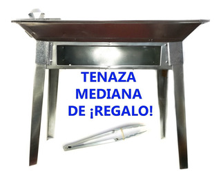 Asador Desmontable Acero Galvanizado Parilla + Regalo