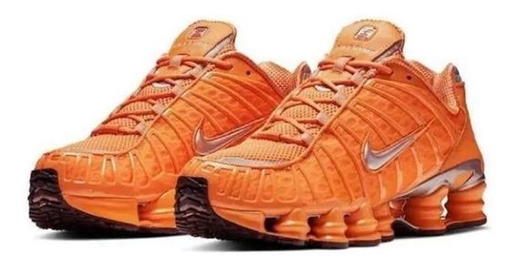 Tênis Nike 12 Molas Tl Ti Black Masculino Feminino Original