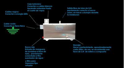 Generador De Vapor 5m3 Eléctrico