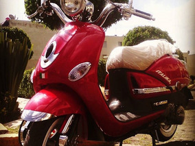 Motoneta Scooter Italika Vitalia 125 Cc Roja 2015