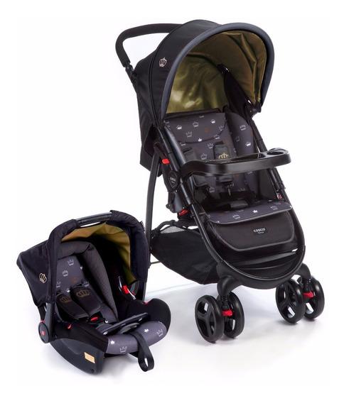 Carrinho Travel System Nexus (carrinho + Bebê Conforto)preto
