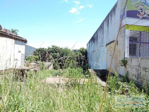 Terreno À Venda, 300 M² Por R$ 550.000,00 - Nonoai - Porto Alegre/rs - Te0086