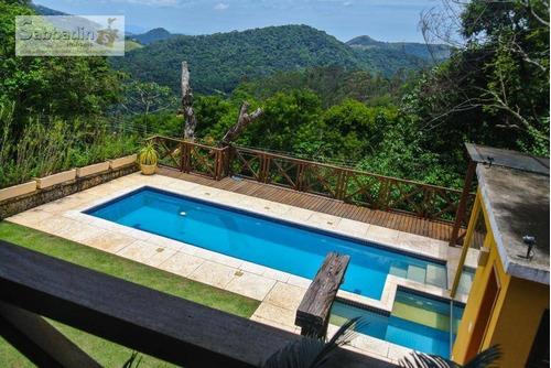 Casa Com 4 Dormitórios À Venda, 550 M² Por R$ 1.600.000,00 - Pedro Do Rio - Petrópolis/rj - Ca0296