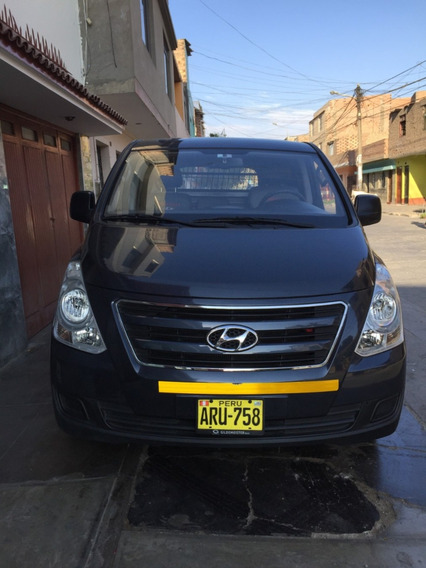 Camioneta 2017 Hyundai H1 Carga Panel Us$ 18,500 Negociable