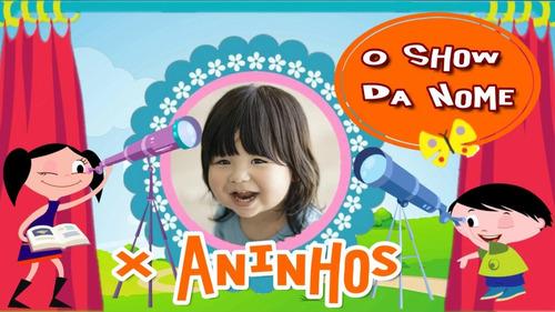 Imagem 1 de 10 de Convite Animado Virtual O Show Da Luna (envio Pelo Whatsapp)
