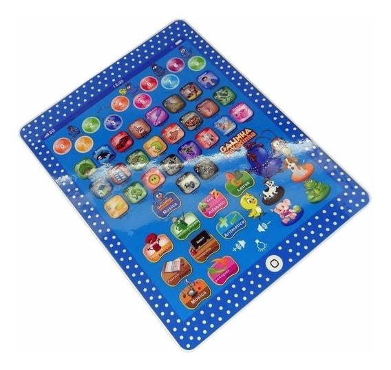 Tablete Galina Pintadinha Educacional Infantil Digital