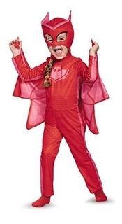 Disfraz De Owlette Heroes En Pijama Rojo Importado U S A