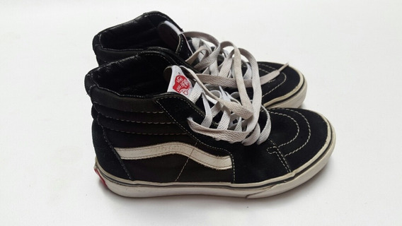 Zapatillas Vans Old School Skate Botita Talle 32 19.5cm Kid
