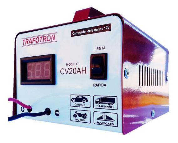 Carregador Bateria Automotiva Cv20 12v 20ah Flutuante