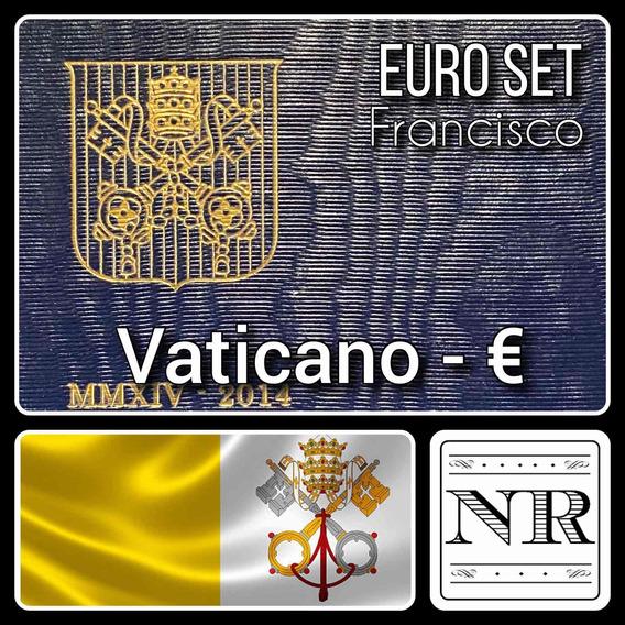 Vaticano - Euro Set - Año 2014 - Km # Varios - 2 Bimetalicas