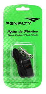 Apito De Plástico Penalty U Preta
