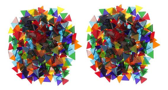 320g Cristal Mosaico Pedras Mosaico De Vidro Mosaico Decoraç