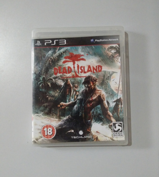 Dead Island Ps3 Mídia Física Original