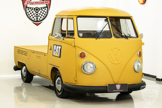Volkswagen Kombi Pick Up 1500 1975 75 - Antiga - Custom