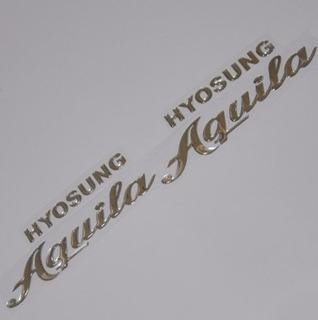 Adesivo Relevo 3d Top Moto Hyosung Kasinski Mirage Gt Aquila