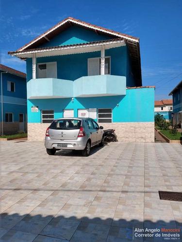 Sobrado De Condomínio Com 3 Dorms, Sítio Do Campo, Praia Grande - R$ 250 Mil, Cod: 553 - V553