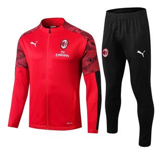 Conjunto Deportivo Del A.c. Milan - 100%originales! A Pedido