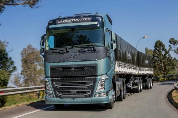 Volvo Fh540 Completa Autom Graneleiro 7 Eixos 2018 Zero Km